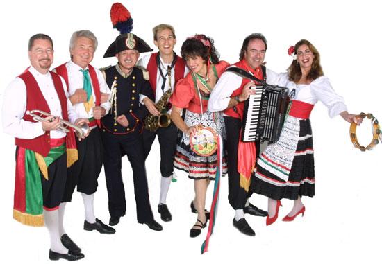 Hp Italian on Aztec Indian Dancers