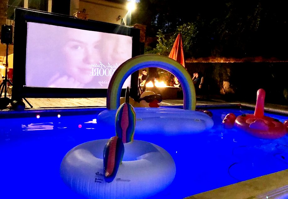 Inflatable Movie Theater