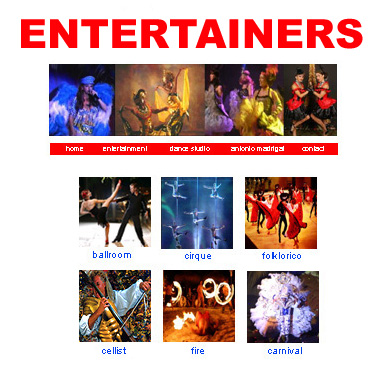 Entertainers Catalog