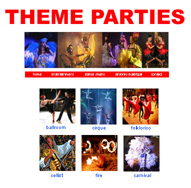 Theme Party Catalog